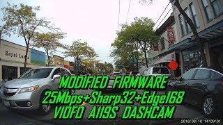 A119S Firmware MOD-05 Daytime 25Mbps+Sharp32+Edge168