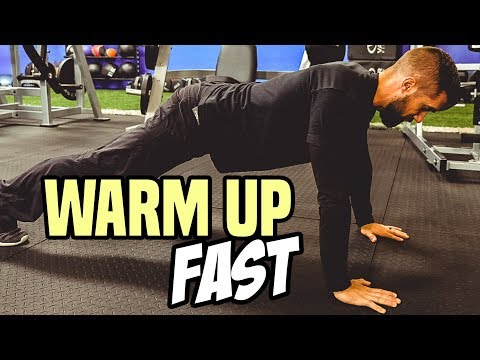 5 Minute TOTAL BODY WARM UP Routine / BEST Before Workout
