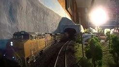 Alex Rivera cab ride aboard his awesome 1/87 HO Scale Model Railroad