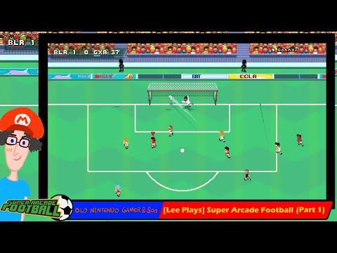 [Lee Plays] Super Arcade Football (Part 1) |