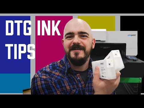How To Store And Maintain DTG Inks | Direct To Garment Printing