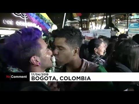 شاهد: مثليون ومتحولون جنسيا يحتجون وسط بوغوتا  - نشر قبل 2 ساعة