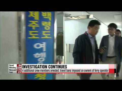 President Park says behavior of sunken ferry's captain is akin to murder