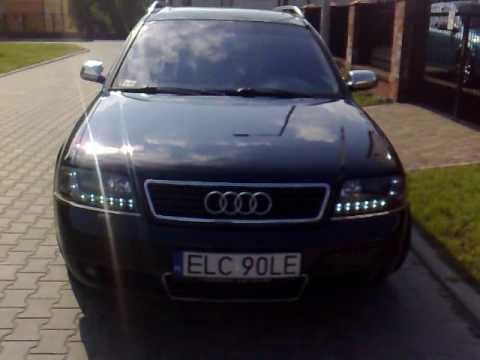 Audi A6 C5 Dayline Devil Eyes Lampy Led Diodowe Do Jazdy