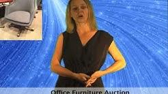 Law Firm Designer Office Furniture Auction