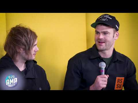 The Chainsmokers & 5SOS Talk New Music With The AMP Morning Show