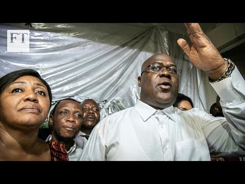 Shock victory declared for Felix Tshisekedi in Congo election