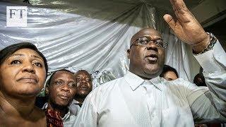 Shock victory declared for Felix Tshisekedi in Congo election