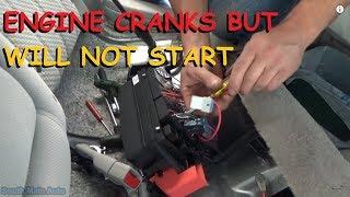 Buick Lucerne - Crank, No Start, No Fuel Pressure
