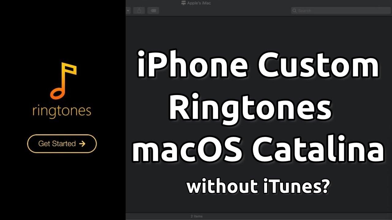 How to Create Custom iPhone Ringtones with macOS Catalina?