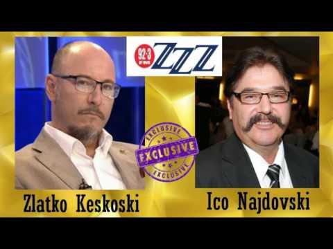 Zlatko Keskoski intervju za 3ZZZ - 7 Mart 2017
