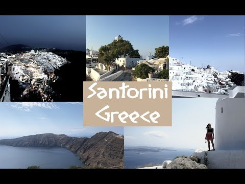 A week in Santorini Greece | travel diary