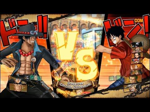 One Piece Song Đấu: Bộ Ba Ace, Sabo, Marco Đấu Với Chín Thành Viên Băng Mũ Rơm