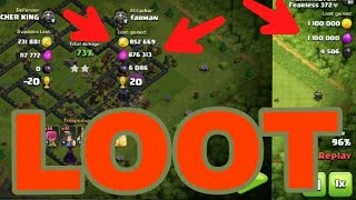How to find Big Loot every time in Clash of Clans ... With Proof.