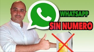 WhatsApp Sin Numero de Teléfono I Sin Tarjeta SIM I Numero Virtual GRATIS 2017