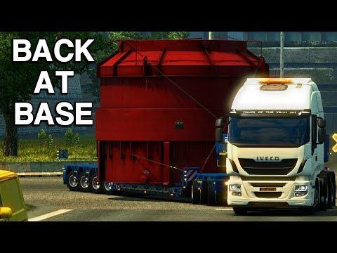 BACK AT BASE   Special Transport - Euro Truck Simulator 2