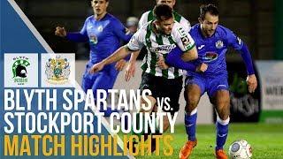 Blyth Spartans Vs Stockport County - Match Highlights - 20.11.2018