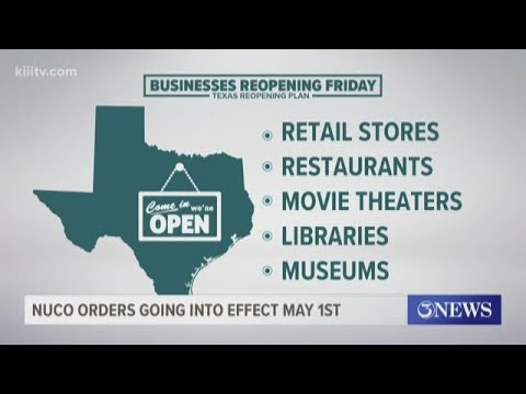 Judge Canales Signs Order To Reopen Retail Stores, Restaurants, Movie Theaters, And Malls