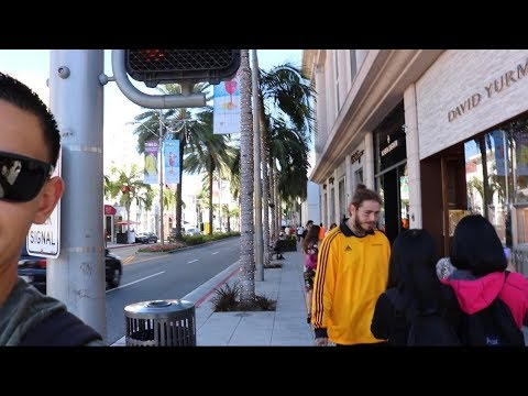 Post Malone in Beverly Hills + Car spotting