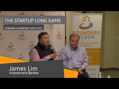 The Startup Long Game: Striking a Rapport with VCs