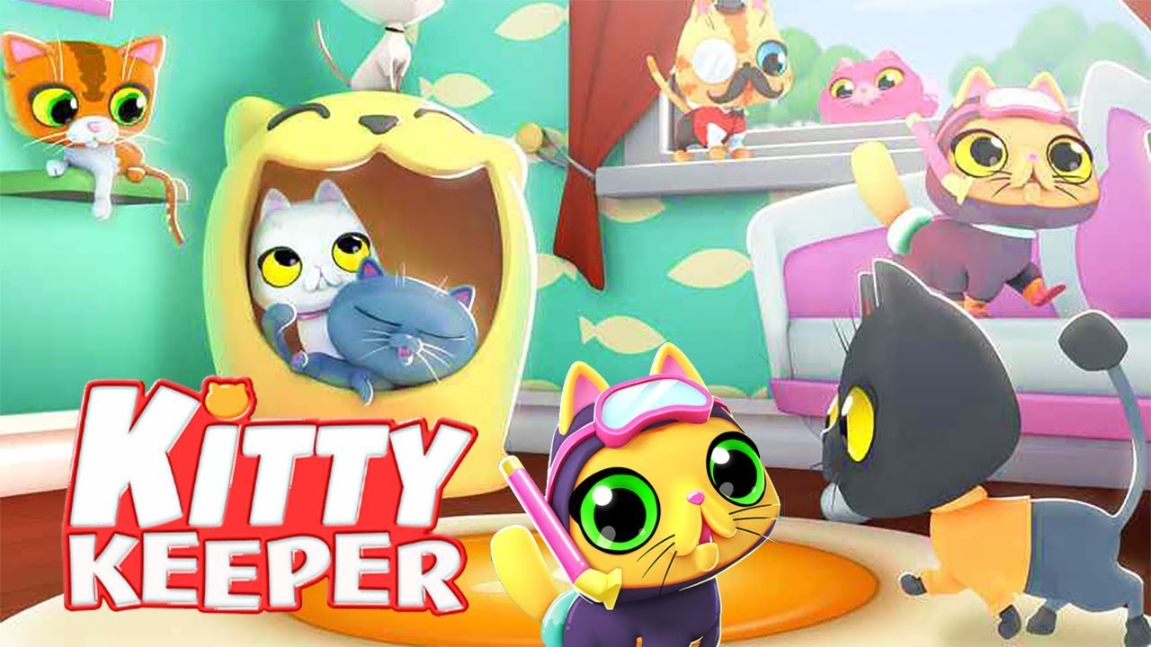 Kitty Keeper 🐱 is the NEW FREE Cat Game! | Kitty Keeper: Cat Collector  Gameplay