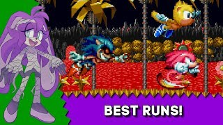 Halloween Challenge - Full Knuckles Play-though + Best Ray Run! - Sonic Mania Plus