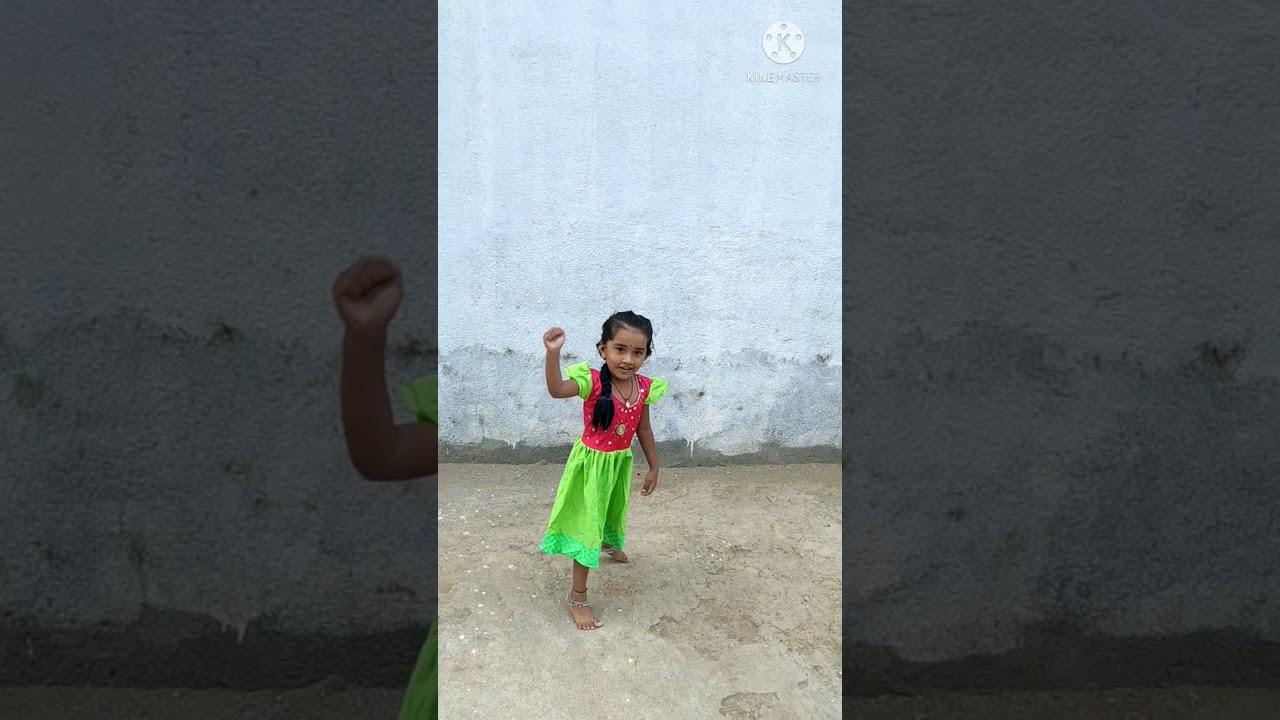 3years kid learning saranga dariya cover song  saranga dariya song  love story movie song saranga