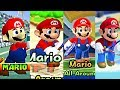Evolution Of All Characters In Mario Tennis (2000-2017) N64, GBC, Gamecube, GBA, Wii U, 3DS