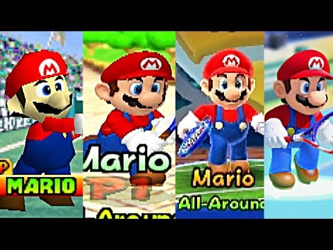 Download Youtube: Evolution Of All Characters In Mario Tennis (2000-2017) N64, GBC, Gamecube, GBA, Wii U, 3DS