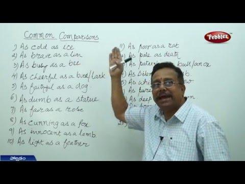 | స్పోకెన్ ఇంగ్లీష్ తెలుగుద్వారా | Pebbles Spoken English Thro Telugu