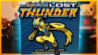 Pokemon Lost Thunder Elite Trainer Box Opening!