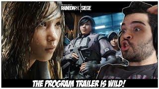 Rainbow Six Siege - The Program Trailer Reaction/Analysis