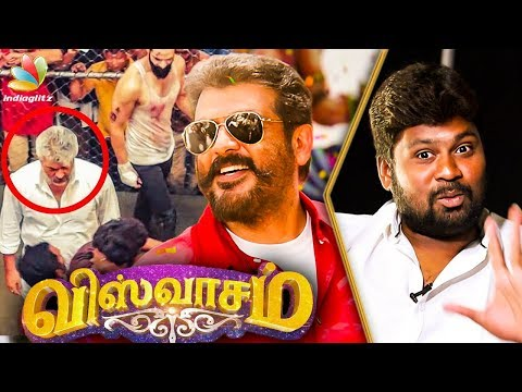 Ajith Never Compromises on RISKY STUNTS : Dhilip Subbarayan Interview | Viswasam Movie Making