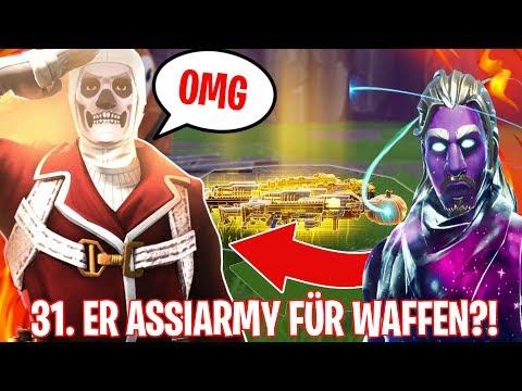 VERLÄSST ER die ASSIARMY für WAFFEN?! 😱 ASSIARMY SCAMMER TEST 😂 - Fortnite Rette die Welt Deutsch