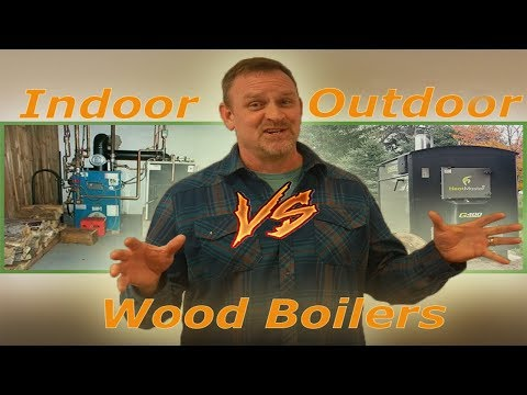 How We Heat The Shop For Free Diy Outdoor Wood Boiler