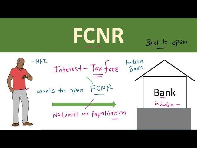 FCNR account | Why FCNR account is best for NRI's | FCNR | Advantage to  open FCNR account