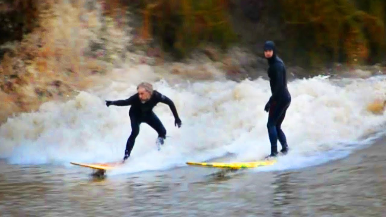 The Snow Wave Best Ever Severn Bore 2018
