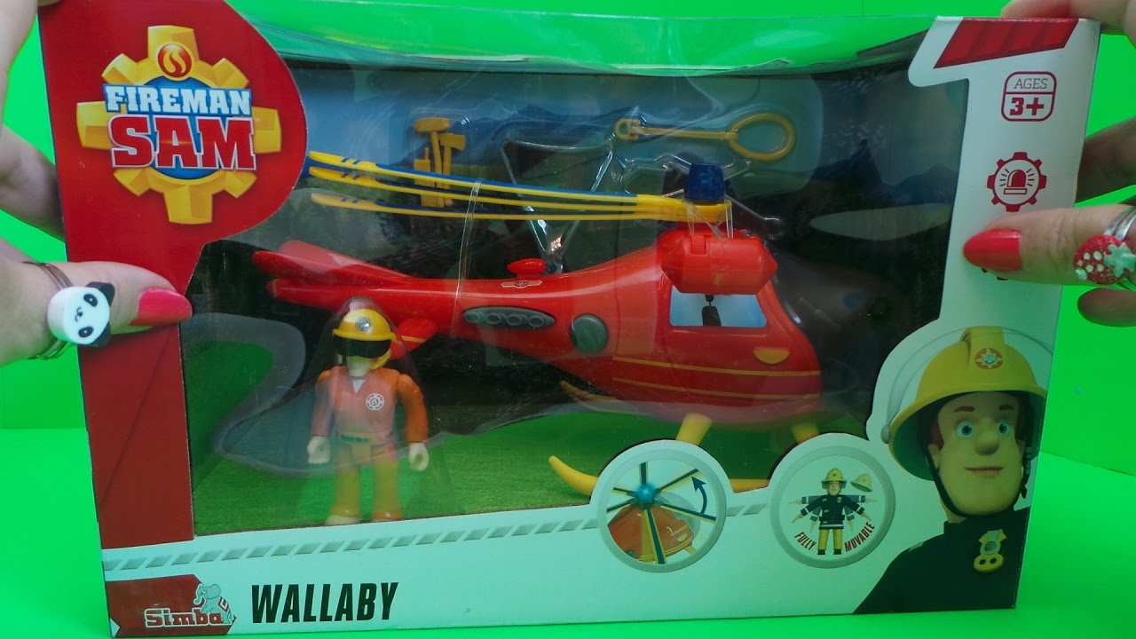 Best Fireman Sam Toys Kids : Firefighter fireman sam simba dickie toys wallaby