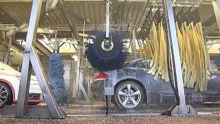 Самая большая автомойка в мире - моет 300 авто в час, 4 000 в день!