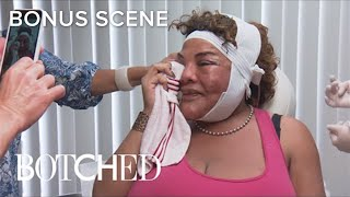 Botched | Rajee Sends Sweet Video Message to Terry Dubrow's Mom | E!