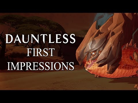 Dauntless - Very Early Impressions