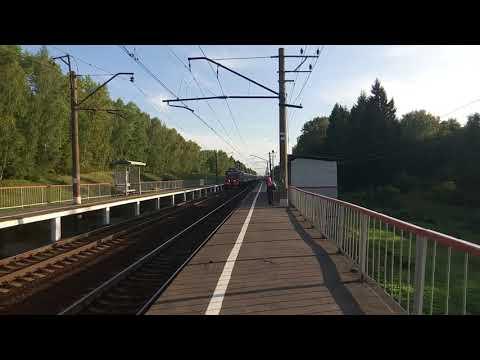 Скорый поезд Белгород-Санкт-Петербург