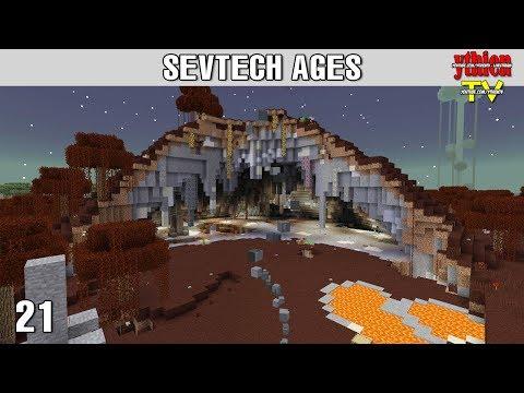 Sevtech Ages 21 - Hydra và Knight Phantom