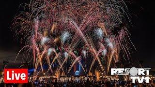🔴Live: New Year's Eve Fireworks at Epcot - Walt Disney World Live Stream