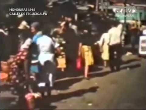 RTV Honduras de Antano calles de Tegucigalpa 1965