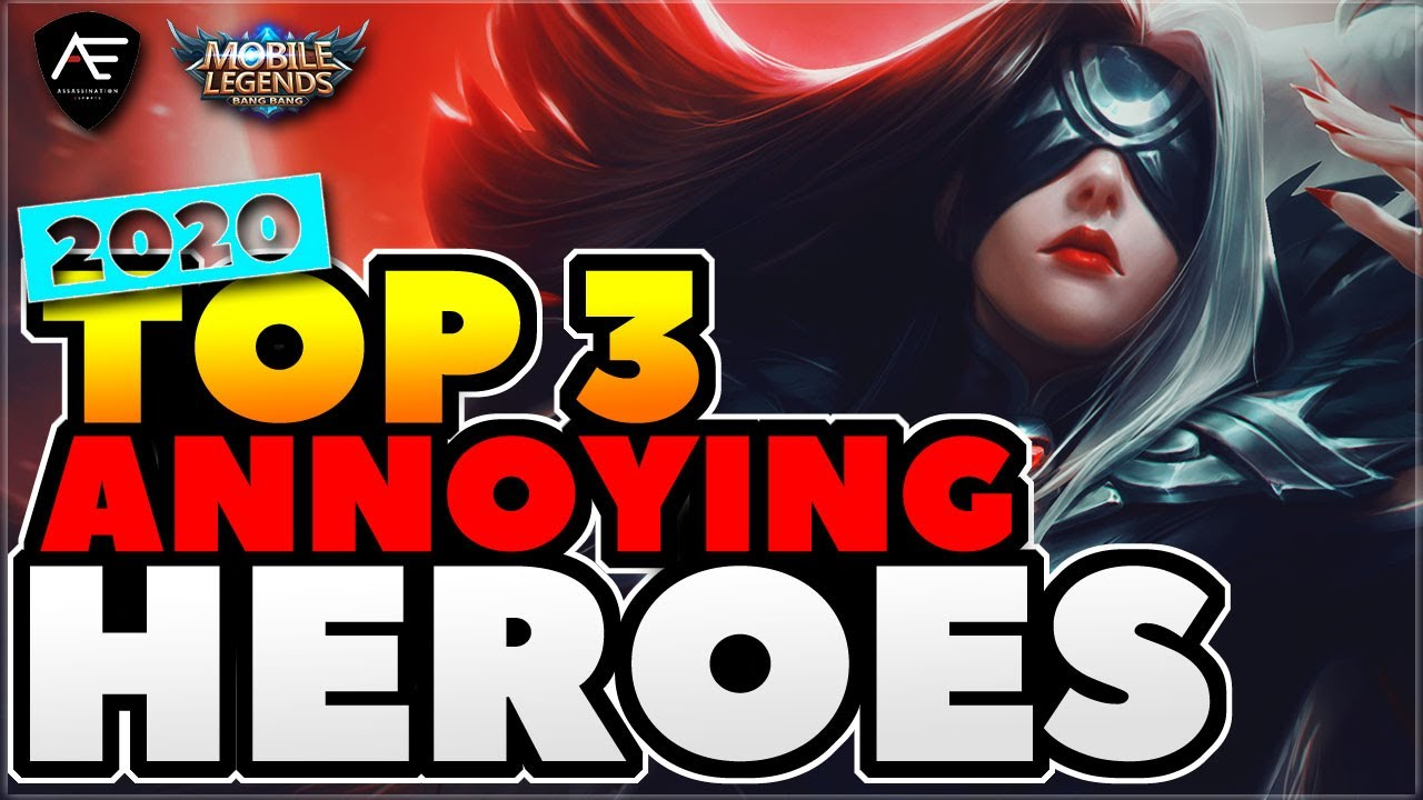 Season 16 Top 3 Most Annoying Heroes in Rank | Mobile Legends