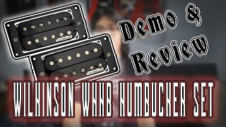 Wilkinson WHHB Humbucker Set - Review/Demo - Aliexpress Microreview