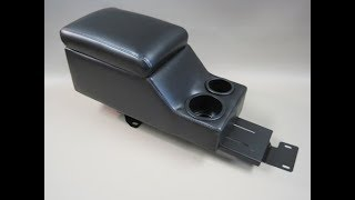 Dodge Charger Police Vehicle Deluxe Center Console with EQ2 installation instructions (EQ2 Plate)