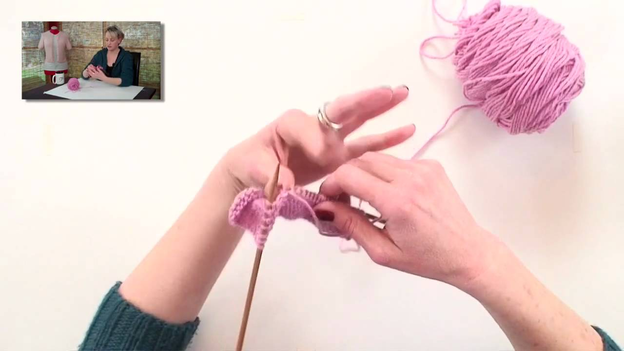 Knitting Wrap And Turn Ribbing : Knitting help wrap and turn w t youtube