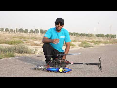 Tareq Alsaadi I Replaced The Old Xnova Motor 4025-560 With New One !! Oxy5 RC Helicopter طارق السعدي